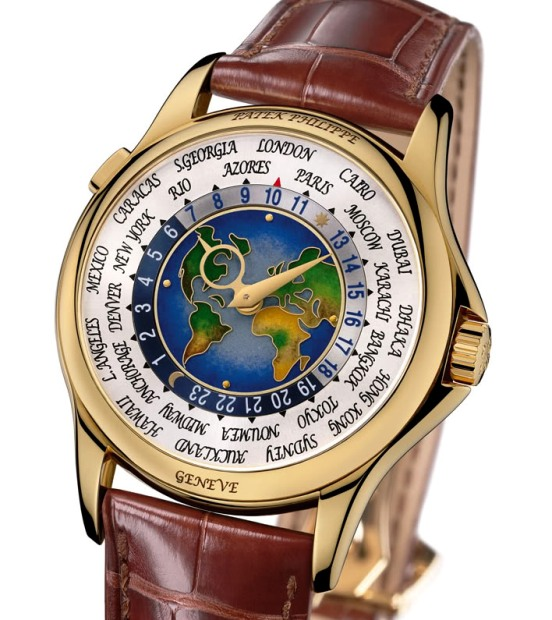 Patek Philippe 1939 Platinum World Time Watch