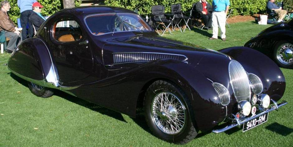 Duesenberg Model J Long-Wheelbase Coupe 1931 года выпуска