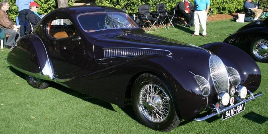 Duesenberg Model J Long-Wheelbase Coupe 1931 года выпуска