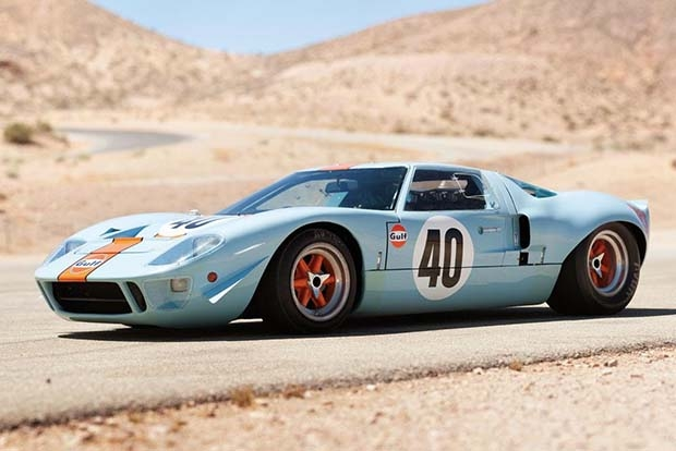Ford GT40 Gulf/Mirage Coupe 1968 года выпуска