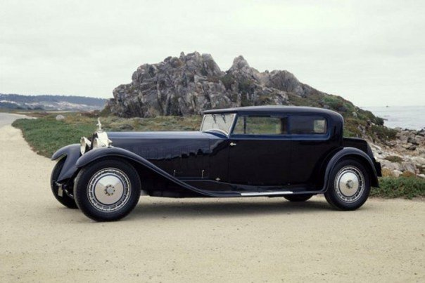 Bugatti Royale Kellner Coupe 1931 года выпуска
