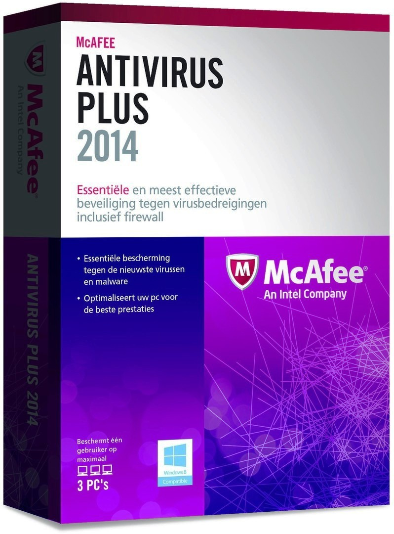 Антивирусная программа McAfee AntiVirus Plus 2014