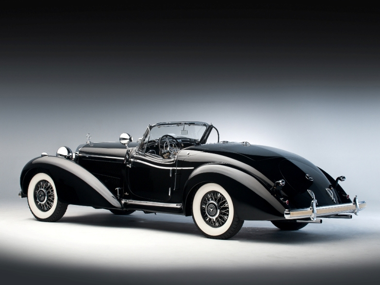 Mercedes-Benz 540 K Spezial Roadster 1936 года выпуска