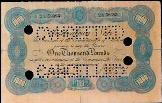 Австралийские банкноты 1924 года