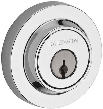 Baldwin Single Cylinder Round Deadbolt