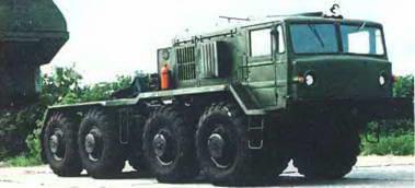 Курганский завод колесных тягачей (КЗКТ) МАЗ-537