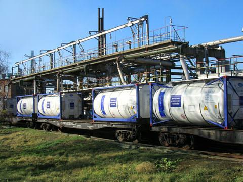 Перевозки в танк-контейнерах